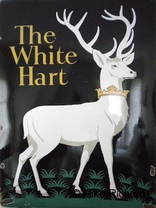White Deer-White Hart Picture