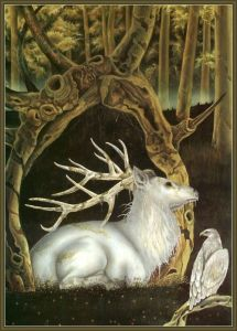 White Deer-Arthur White Stag